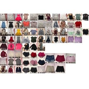 Tons of clothes